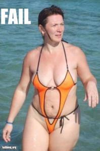 Swimsuit Fail